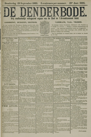 De Denderbode 1895-09-19