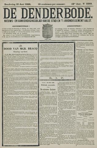 De Denderbode 1888-06-21