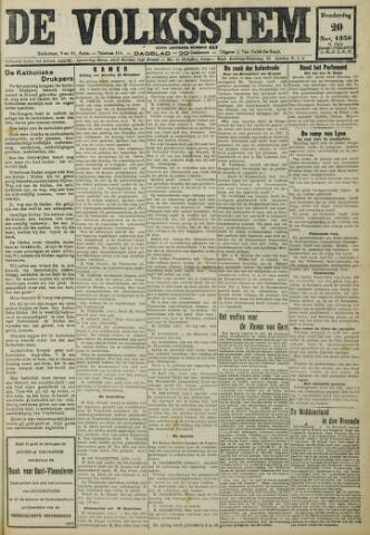De Volksstem 1930-11-20