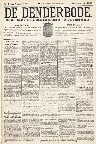 De Denderbode 1887-04-07