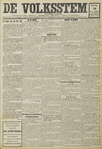 De Volksstem 1930-11-18