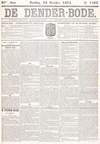 De Denderbode 1874-10-18
