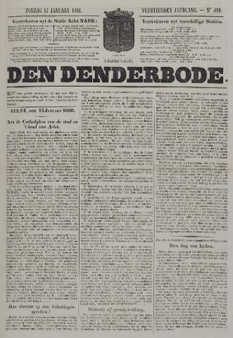 De Denderbode 1860-01-15