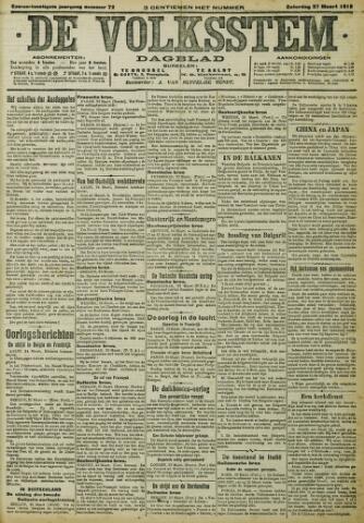 De Volksstem 1915-03-27