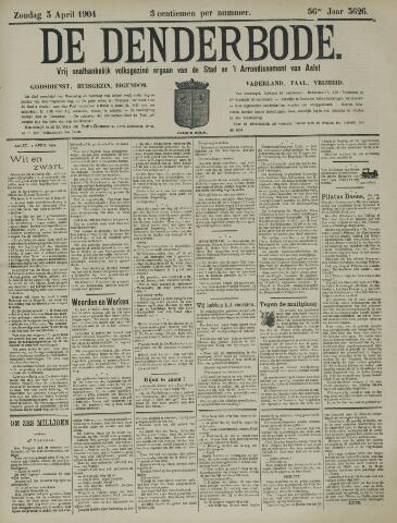De Denderbode 1904-04-03