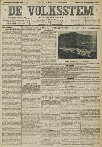 De Volksstem 1910-09-22