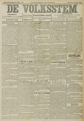 De Volksstem 1910-08-02
