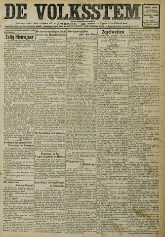 De Volksstem 1929