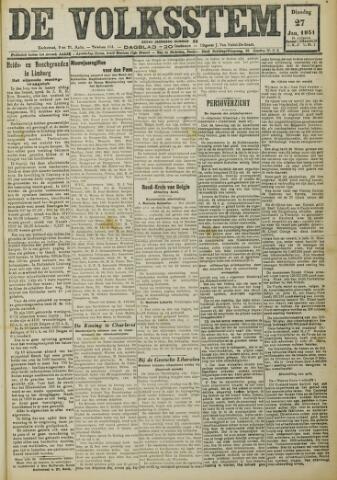 De Volksstem 1931-01-27