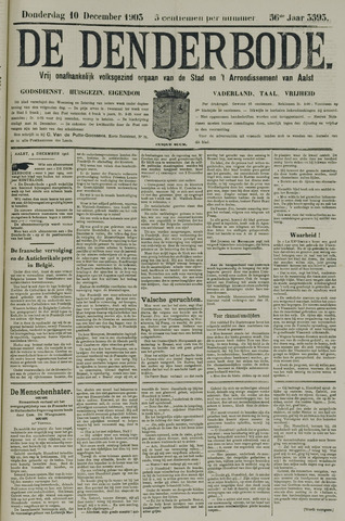 De Denderbode 1903-12-10