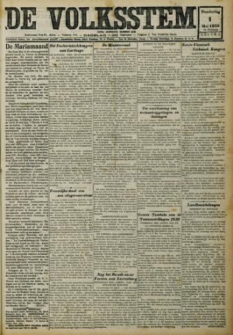 De Volksstem 1930-05-01