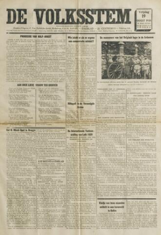 De Volksstem 1938-08-19