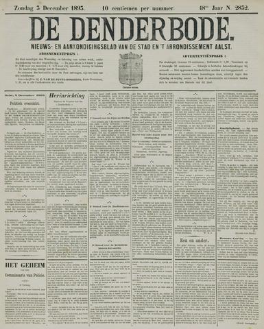 De Denderbode 1893-12-03