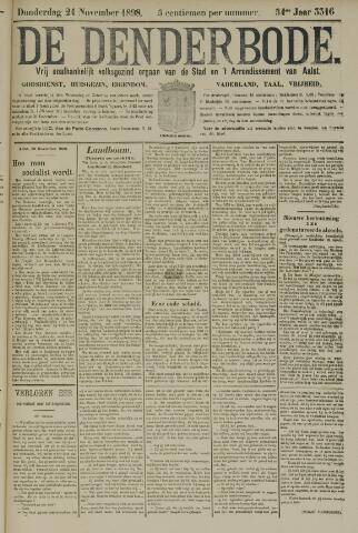 De Denderbode 1898-11-24