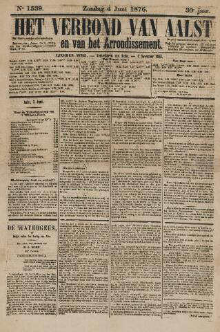 Het Verbond van Aelst 1876