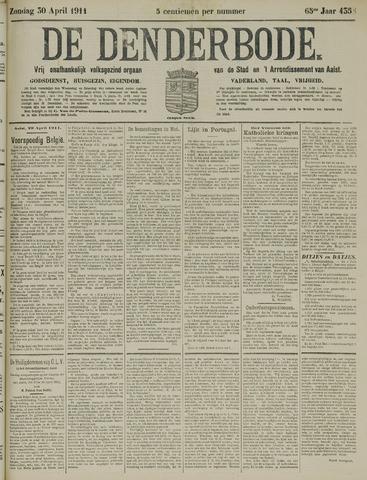 De Denderbode 1911-04-30