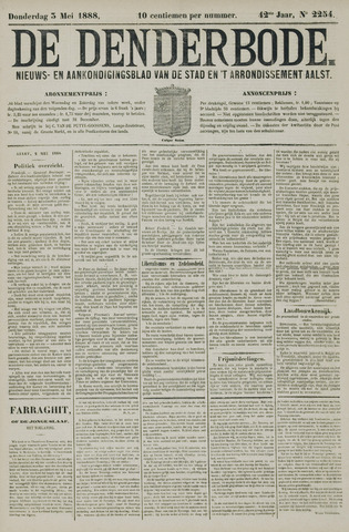 De Denderbode 1888-05-03