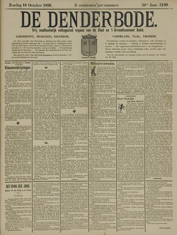 De Denderbode 1896-10-18