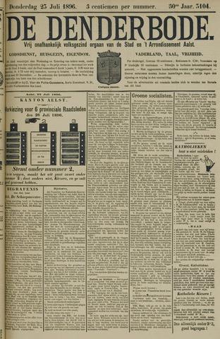 De Denderbode 1896-07-23