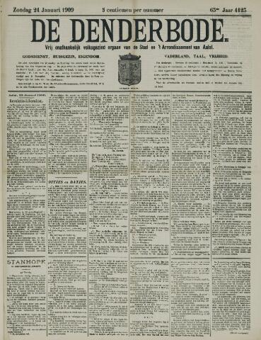 De Denderbode 1909-01-24