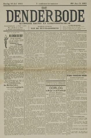 De Denderbode 1915-07-11