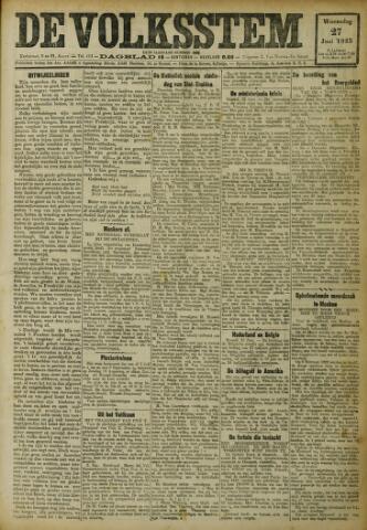 De Volksstem 1923-06-27