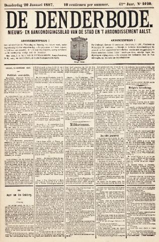 De Denderbode 1887-01-20