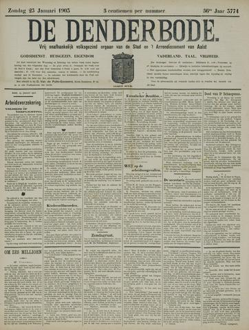 De Denderbode 1903-01-25