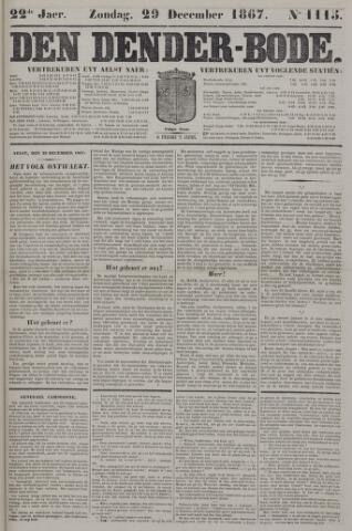 De Denderbode 1867-12-29