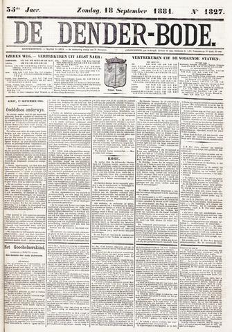 De Denderbode 1881-09-18