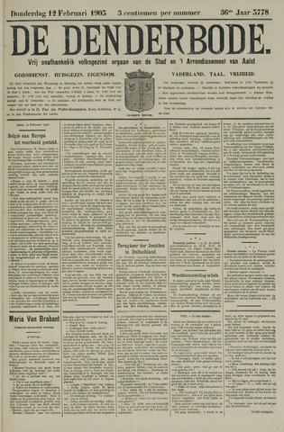 De Denderbode 1903-02-12