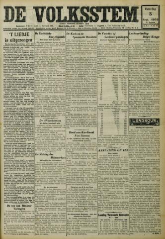 De Volksstem 1932-09-03