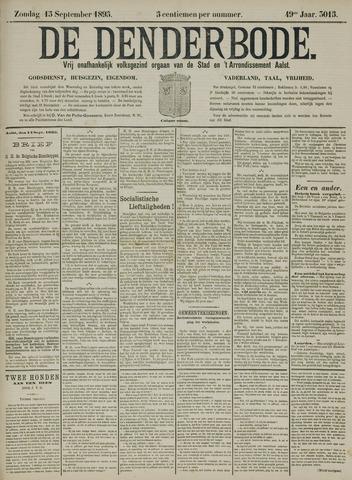 De Denderbode 1895-09-15