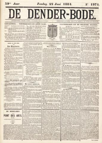 De Denderbode 1884-06-22