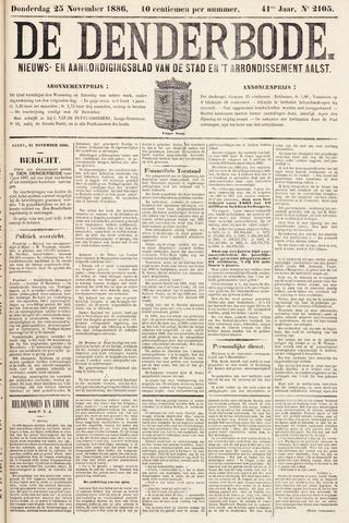 De Denderbode 1886-11-25
