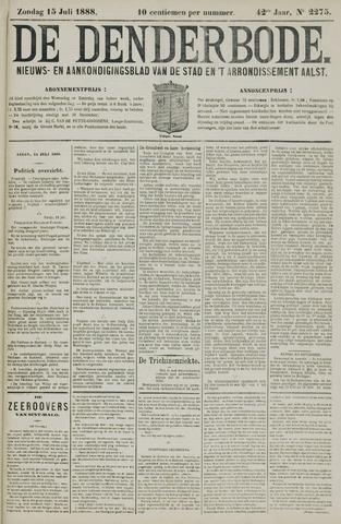 De Denderbode 1888-07-15