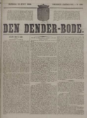 De Denderbode 1850-07-14