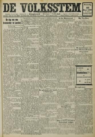 De Volksstem 1926-03-24