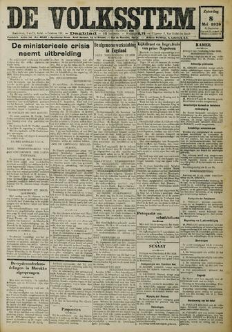 De Volksstem 1926-05-08