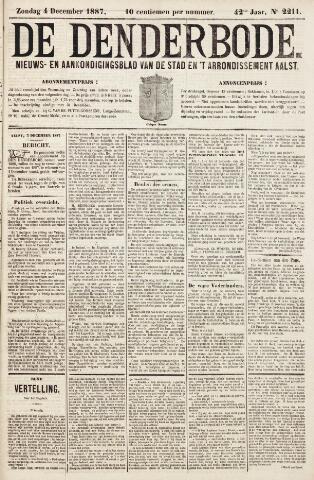 De Denderbode 1887-12-04