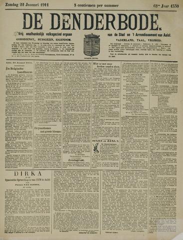 De Denderbode 1911-01-22