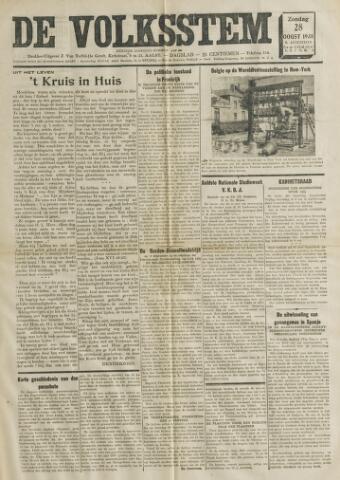 De Volksstem 1938-08-28