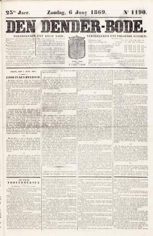 De Denderbode 1869-06-06