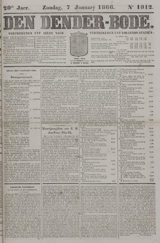 De Denderbode 1866