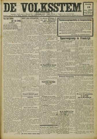 De Volksstem 1932-01-19