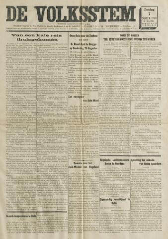 De Volksstem 1938-08-07