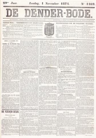 De Denderbode 1874-11-01