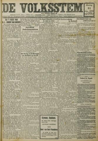 De Volksstem 1930-02-11