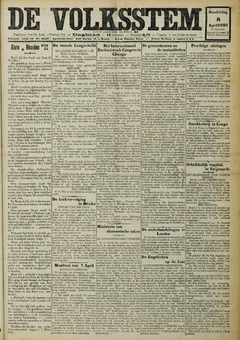 De Volksstem 1926-04-08