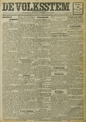 De Volksstem 1923-12-18
